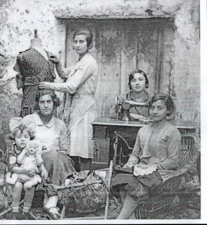 foto antigua costureras