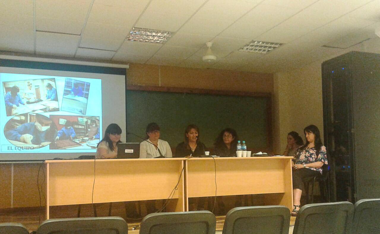 Presentación del Taller de Preservación y Conservación del diario Córdoba.