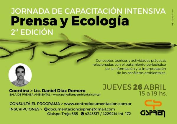 FLYER Prensa y Ecología ABRIL
