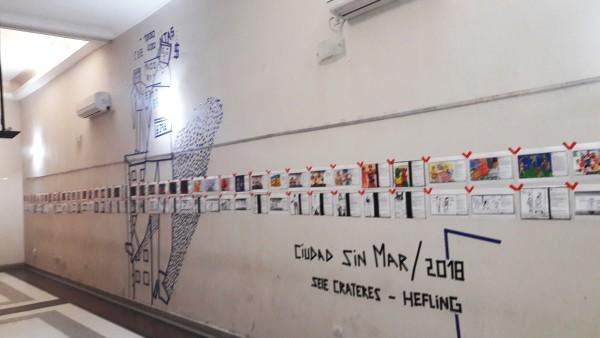 Muestra Hefling- panoramica