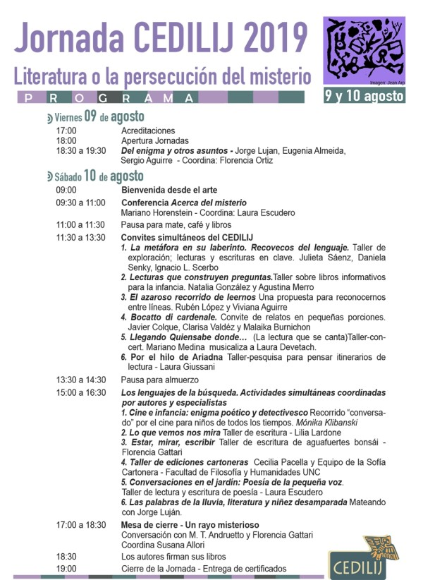 Programa Final 2019 CEDILIJ