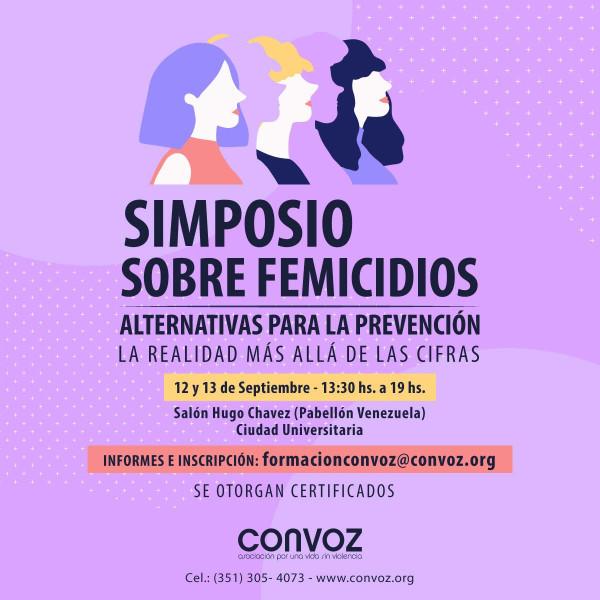 Simposio sobre femicidios
