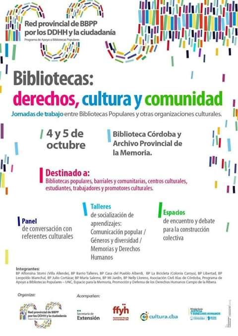 bibliotecas, cultura y comunidad