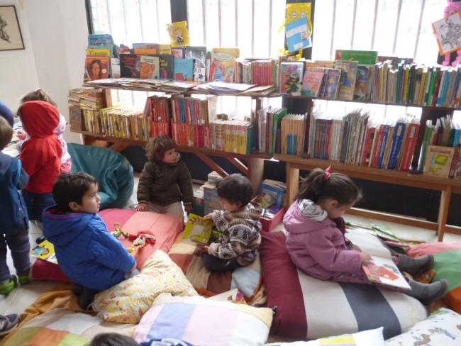 Biblioteca Hernandez niños
